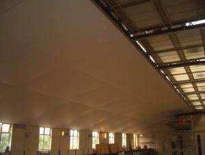 Internal Ceiling in Progress